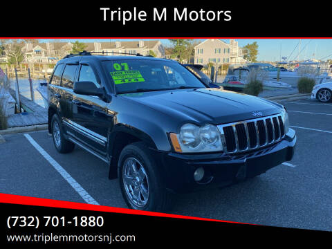 2007 Jeep Grand Cherokee for sale at Triple M Motors in Point Pleasant NJ