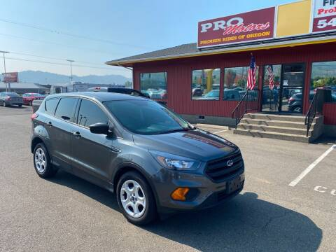 2019 Ford Escape for sale at Pro Motors in Roseburg OR