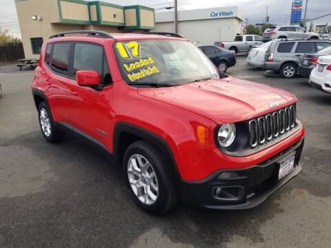 2017 Jeep Renegade for sale at Showcase Luxury Cars II in Pinedale CA