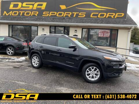 2014 Jeep Cherokee for sale at DSA Motor Sports Corp in Commack NY