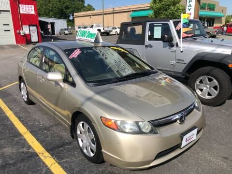 2008 Honda Civic for sale at Affordable Autos at the Lake in Denver NC