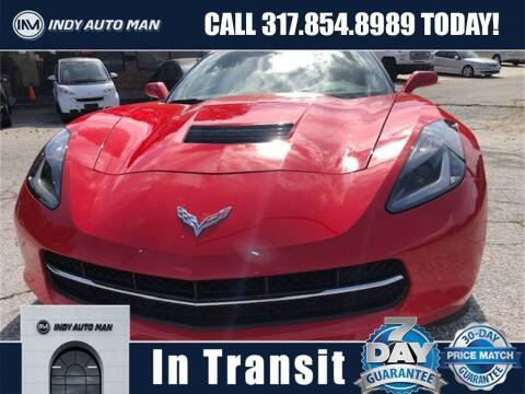 2015 Chevrolet Corvette for sale at INDY AUTO MAN in Indianapolis IN
