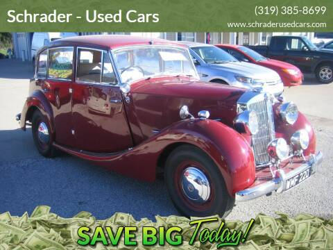 1951 Triumph TR6 for sale at Schrader - Used Cars in Mt Pleasant IA
