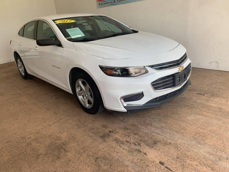 2017 Chevrolet Malibu for sale at Antonio's Auto Sales - Antonio`s  3001 in Pasadena TX