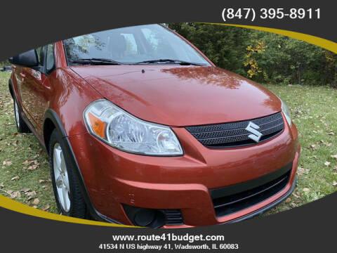 2009 Suzuki SX4 Crossover for sale at Route 41 Budget Auto in Wadsworth IL