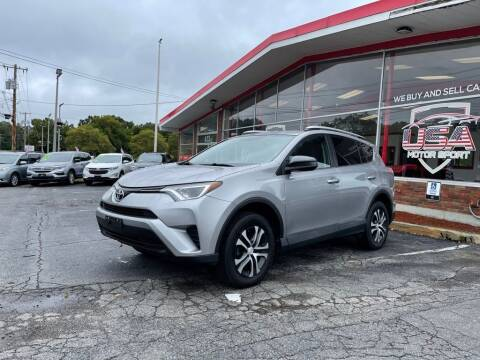 2016 Toyota RAV4 for sale at USA Motor Sport inc in Marlborough MA
