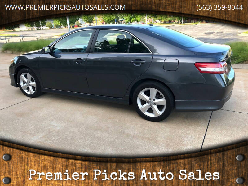 2010 Toyota Camry for sale at Premier Picks Auto Sales in Bettendorf IA