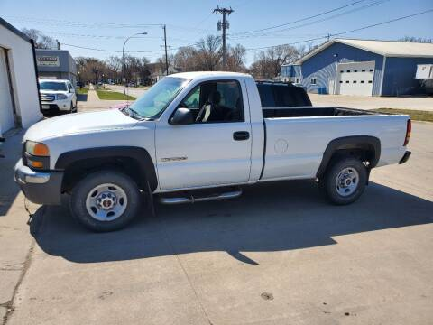 2003 GMC Sierra 2500 for sale at GOOD NEWS AUTO SALES in Fargo ND
