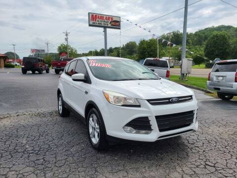 2016 Ford Escape for sale at MARLAR AUTO MART SOUTH in Oneida TN