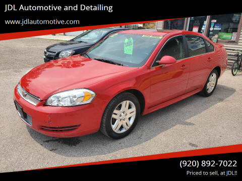 2012 Chevrolet Impala for sale at JDL Automotive and Detailing in Plymouth WI