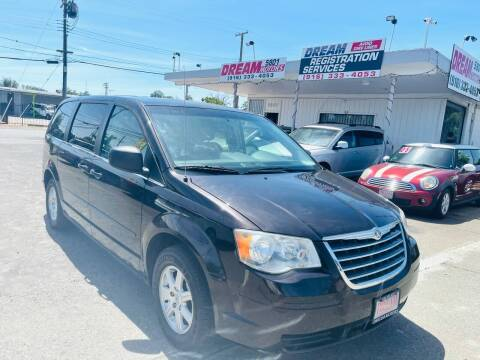 2010 Chrysler Town and Country for sale at Dream Motors in Sacramento CA