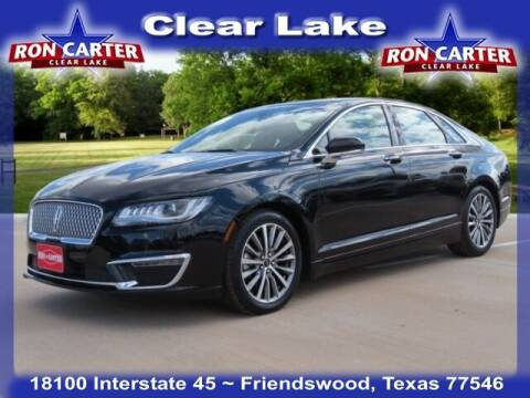 2020 Lincoln MKZ for sale at Ron Carter  Clear Lake Used Cars in Houston TX