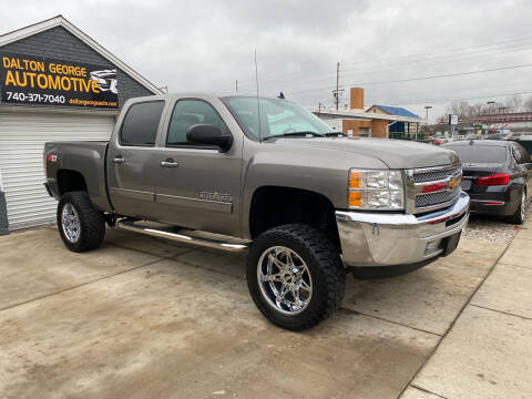 2012 Chevrolet Silverado 1500 for sale at Dalton George Automotive in Marietta OH
