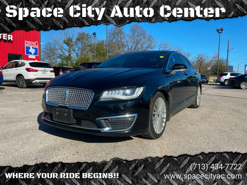 2017 Lincoln MKZ for sale at Space City Auto Center in Houston TX