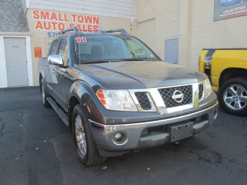 2011 Nissan Frontier for sale at Small Town Auto Sales in Hazleton PA