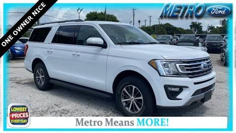 2019 Ford Expedition MAX for sale at Your First Vehicle in Miami FL