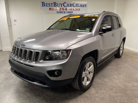 2016 Jeep Compass for sale at Best Buy Car Co in Independence MO