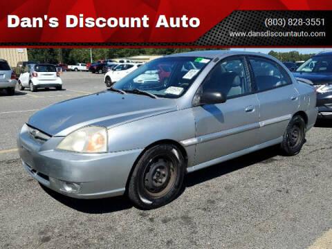 2004 Kia Rio for sale at Dan's Discount Auto in Gaston SC
