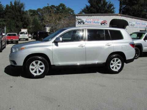 2012 Toyota Highlander for sale at Pure 1 Auto in New Bern NC