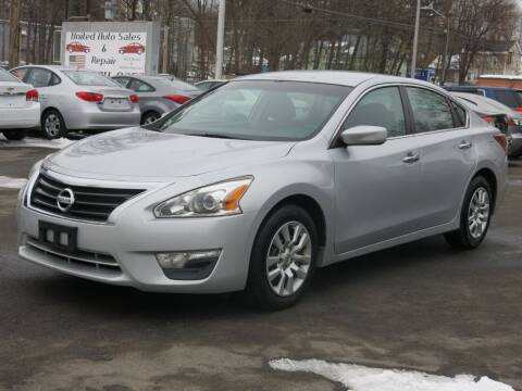 2013 Nissan Altima for sale at United Auto Service in Leominster MA