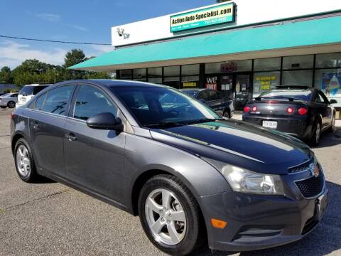 2013 Chevrolet Cruze for sale at Action Auto Specialist in Norfolk VA