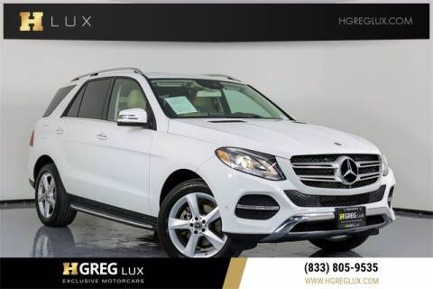 2018 Mercedes-Benz GLE for sale at HGREG LUX EXCLUSIVE MOTORCARS in Pompano Beach FL