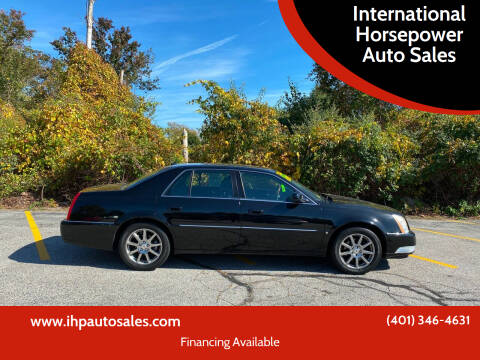 2008 Cadillac DTS for sale at International Horsepower Auto Sales in Warwick RI