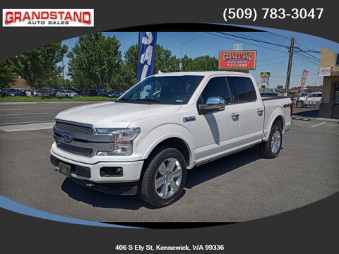 2019 Ford F-150 for sale at Grandstand Auto Sales in Kennewick WA