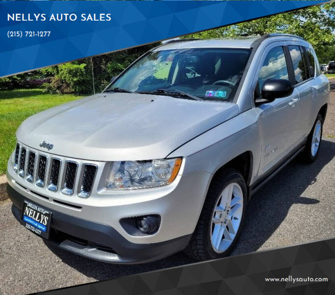 2011 Jeep Compass for sale at NELLYS AUTO SALES in Souderton PA