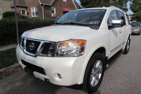 2014 Nissan Armada for sale at First Choice Automobile in Uniondale NY