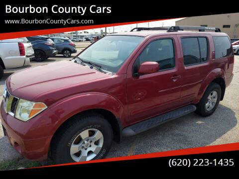 2007 Nissan Pathfinder for sale at Bourbon County Cars in Fort Scott KS