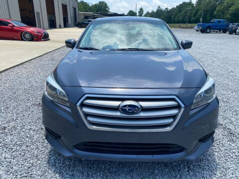 2017 Subaru Legacy for sale at Alpha Automotive in Odenville AL