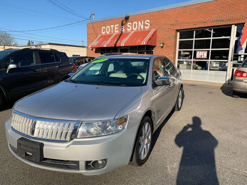 2009 Lincoln MKZ for sale at Cote & Sons Automotive Ctr in Lawrence MA