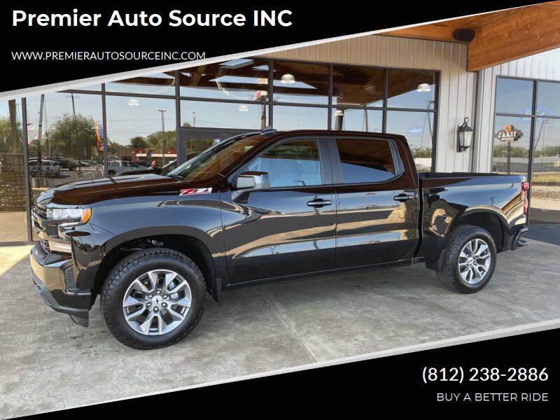 2021 Chevrolet Silverado 1500 for sale at Premier Auto Source INC in Terre Haute IN