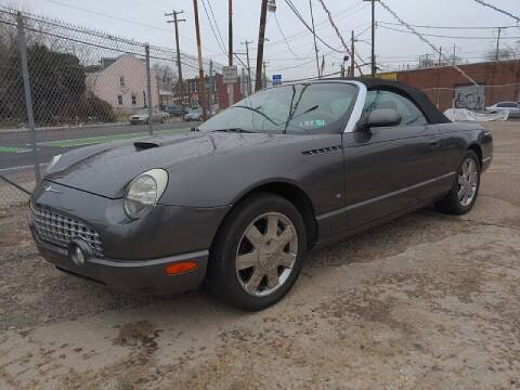 2003 Ford Thunderbird for sale at Dan Kelly & Son Auto Sales in Philadelphia PA