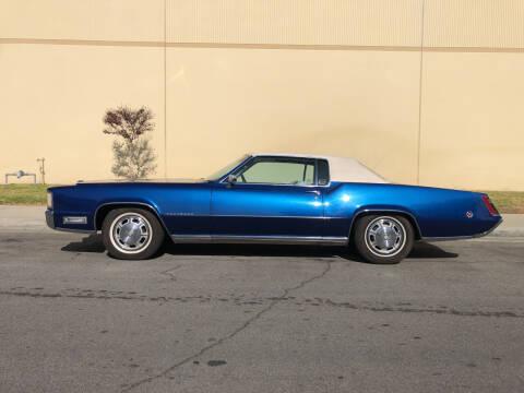 1968 Cadillac Eldorado for sale at HIGH-LINE MOTOR SPORTS in Brea CA