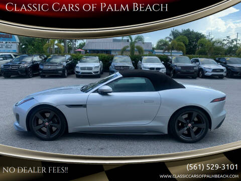 2018 Jaguar F-TYPE for sale at Classic Cars of Palm Beach in Jupiter FL