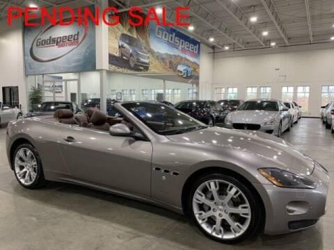 2010 Maserati GranTurismo for sale at Godspeed Motors in Charlotte NC