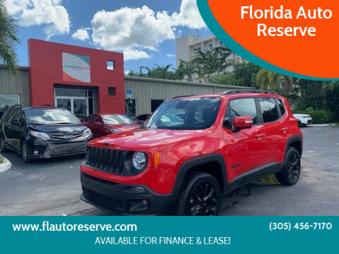 2018 Jeep Renegade for sale at Florida Auto Reserve in Medley FL