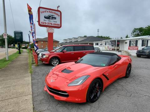 2016 Chevrolet Corvette for sale at Ford's Auto Sales in Kingsport TN