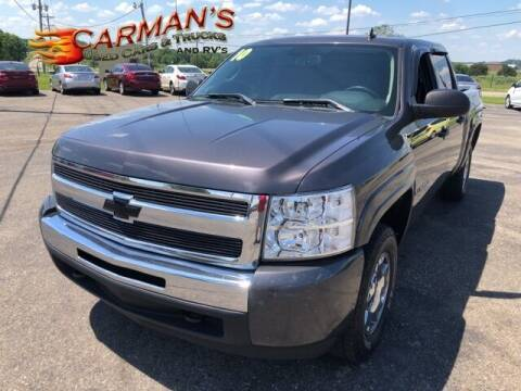 2010 Chevrolet Silverado 1500 for sale at Carmans Used Cars & Trucks in Jackson OH