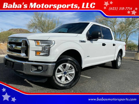 2016 Ford F-150 for sale at Baba's Motorsports, LLC in Phoenix AZ