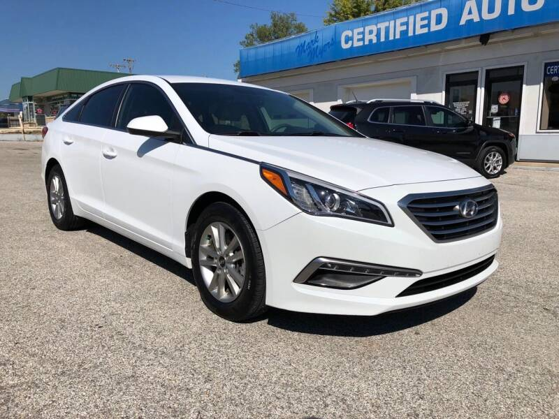 2015 Hyundai Sonata for sale at Perrys Certified Auto Exchange in Washington IN