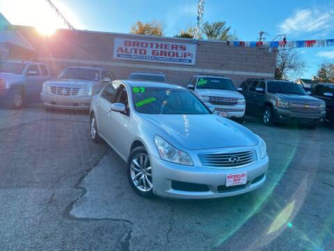 2007 Infiniti G35 for sale at Brothers Auto Group in Youngstown OH