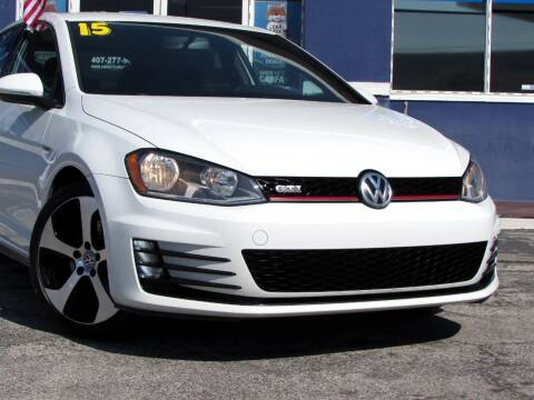 2015 Volkswagen Golf GTI for sale at Orlando Auto Connect in Orlando FL