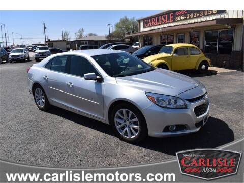 2014 Chevrolet Malibu for sale at Carlisle Motors in Lubbock TX