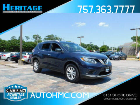 2016 Nissan Rogue for sale at Heritage Motor Company in Virginia Beach VA