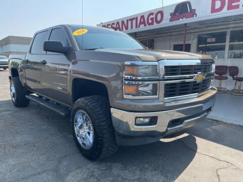 2014 Chevrolet Silverado 1500 for sale at DESANTIAGO AUTO SALES in Yuma AZ