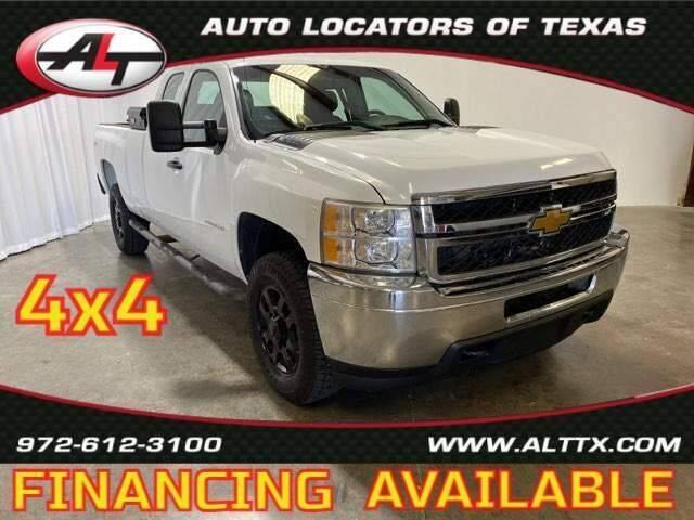 2013 Chevrolet Silverado 2500HD for sale at AUTO LOCATORS OF TEXAS in Plano TX