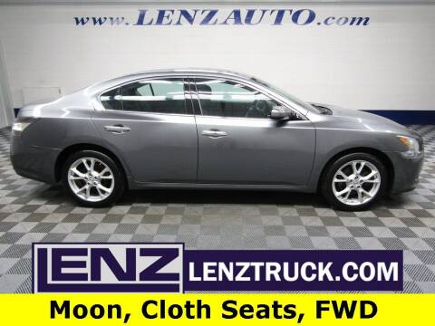 2014 Nissan Maxima for sale at LENZ TRUCK CENTER in Fond Du Lac WI